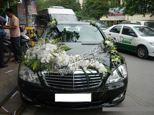 Xe Cưới Mercedes S500