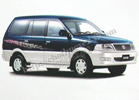 Xe Du Lịch Toyota Zace G