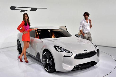 Kia GT concept ở Frankfurt