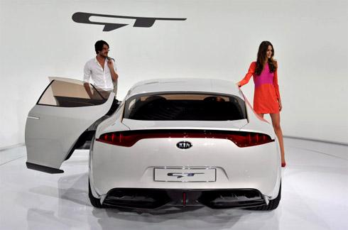 Kia sẽ sản xuất xe từ GT concept