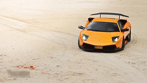 Siêu xe Lamborghini làm bò tót-11