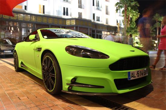 bộ sưu tập siêu xe toàn mầu xanh
