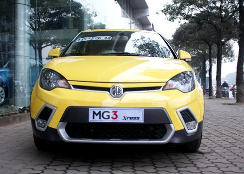 MG3 Xross - hatchback - Lột xác, chinh phục khách hàng Việt