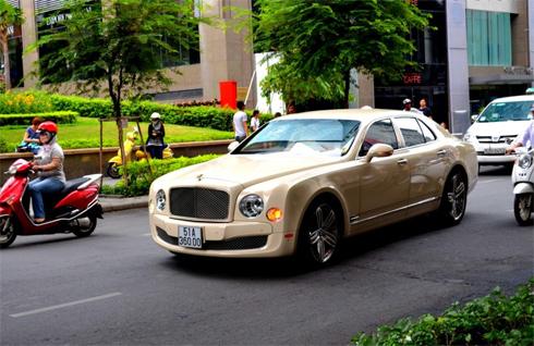 báo nước ngoài nói về Bentley Mulsanne tại Việt Nam