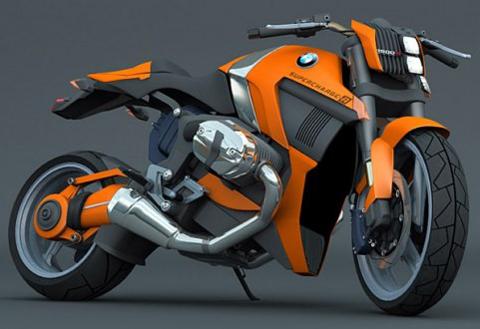 BMW R1200 Supercharger – môtô với động cơ siêu nạp