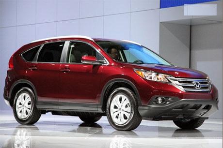Honda CR-V 2013 đã lộ diện