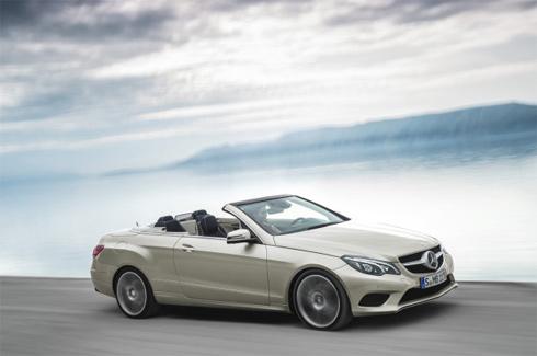 Mercedes công bố ảnh E-class và Mui trần phiên bản 2014