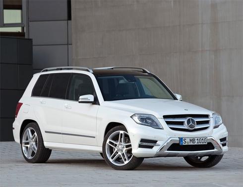 Mercedes công bố sẽ trình làng GLK coupe vào năm 2016