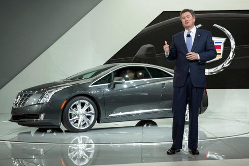 Ra mắt phiên bản Cadillac ELR