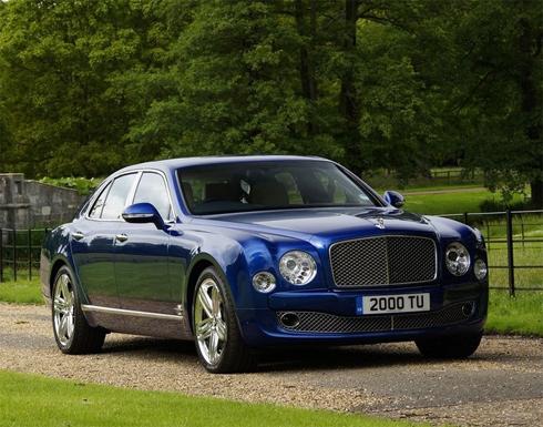Thiết kế đẳng cấp thượng hạng trên Bentley Mulsanne 2013