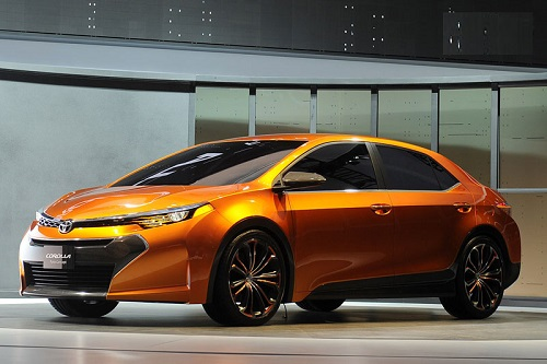 Toyota ra mắt Furia concept thay thế Corolla