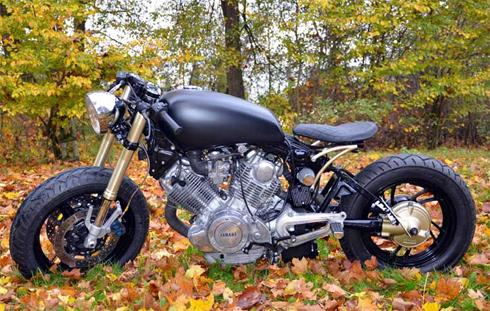 Yamaha XV750 độ theo phim Edward Scissorhands