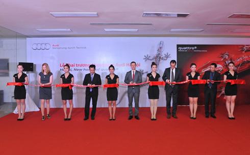 Audi khai trương showroom lớn nhất Việt Nam