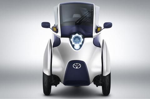 Toyota i-Road xế điện của tương lai