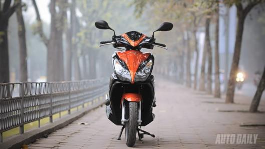 Đánh giá Honda AirBlade 125 và Yamaha Nouvo GP 125