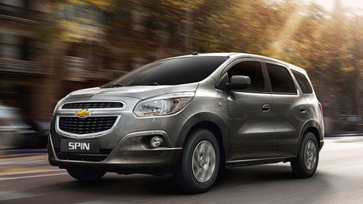 Chevrolet Spin – mẫu xe dành cho thị trường Đông Nam Á
