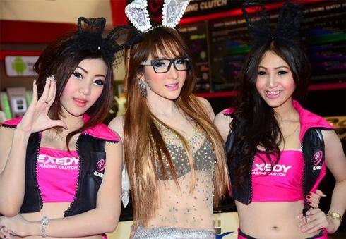 Người đẹp ở Bangkok Motor Show 2013