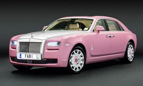 Rolls-Royce Ghost FAB1 hồng, siêu xe độc nhất vô nhị