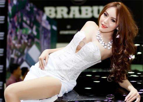 Người mẫu gợi cảmTại Bangkok Auto Show 2013 phần 2