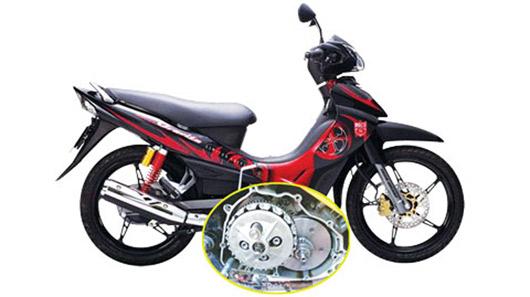 Sử dụng xe máy nên lưu ý chất lượng bộ nồi
