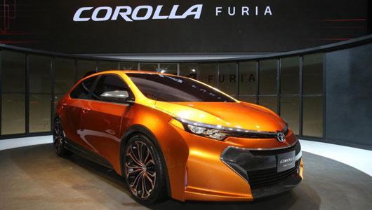 Toyota Corolla 2014 sắp có mặt trên thị trường