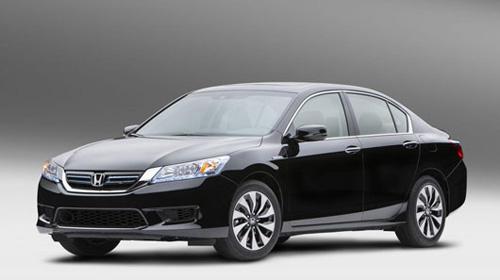 Honda Accord Hybrid 2014 lộ diện