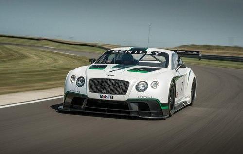 Bentley Continental GT3 2014 chính thức ra mắt