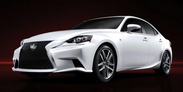 Công bố giá bán xe hơi Lexus IS 2014