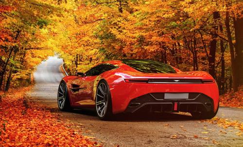 Siêu xe Aston Martin DBC
