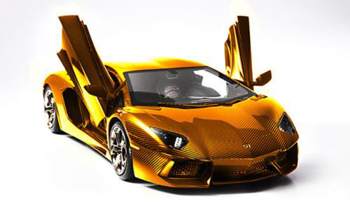 Lamborghini bằng vàng giá 7,5 triệu USD