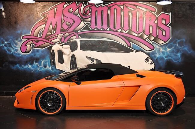 Lamborghini Gallardo thêm sang với nội thất Louis Vuitton
