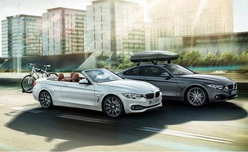 BMW serie 4 mui trần xuất hiện
