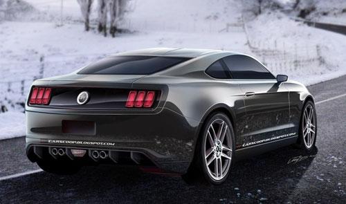 Ford Mustang chuẩn bị sang thế hệ mới