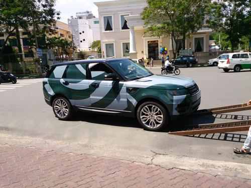 Mẫu 2014 của Range Rover vừa về đến Việt Nam