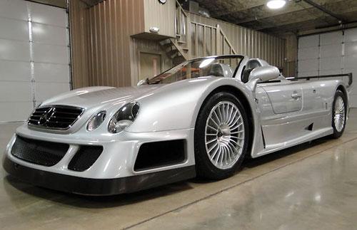 Mercedes CLK GTR – hàng hiếm giá 2 triệu USD