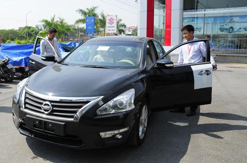 Nissan Teana thế hệ mới có giá 1tỷ4