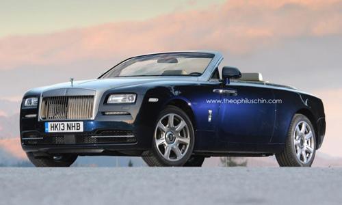 Rolls Royce Wraith mui trần ra mắt 2015
