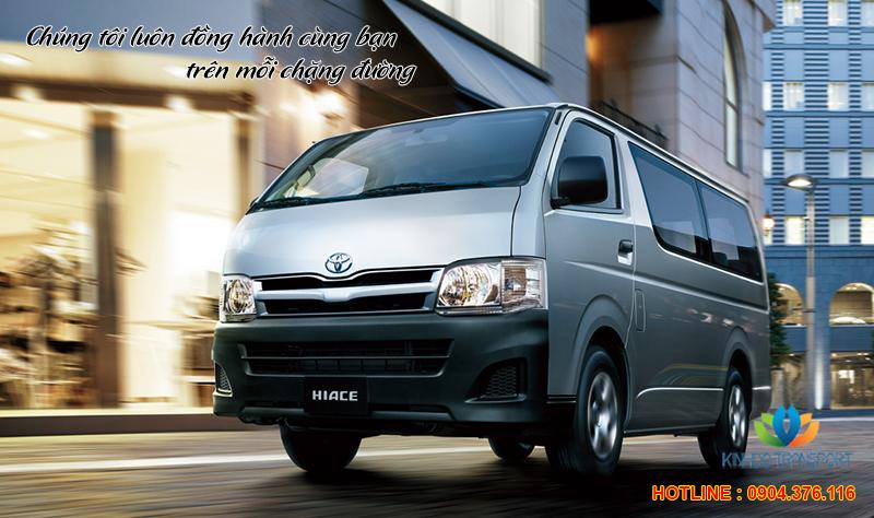 Cho thuê xe 16 chỗ Toyota Hiace