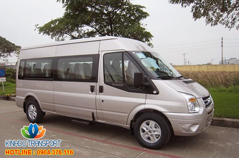 Cho thuê xe du lịch 16 chỗ Ford Transit