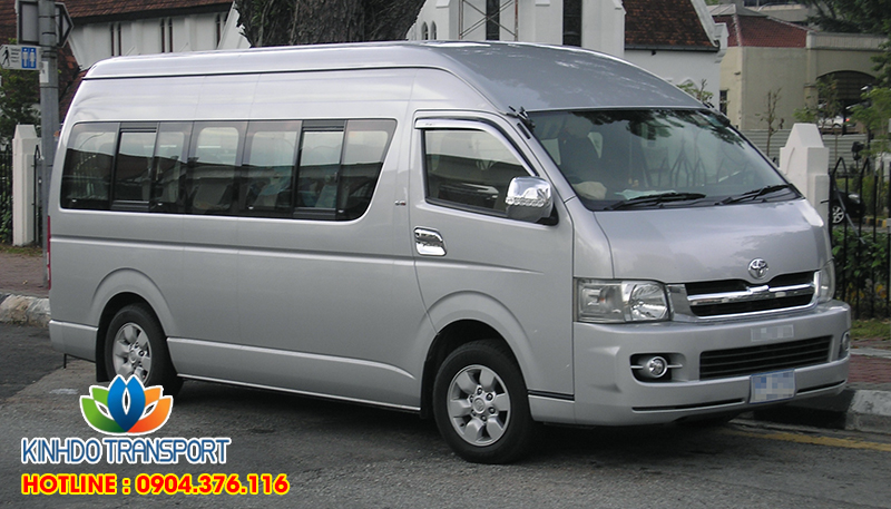 Cho thuê xe du lịch 16 chỗ Toyota Hiace