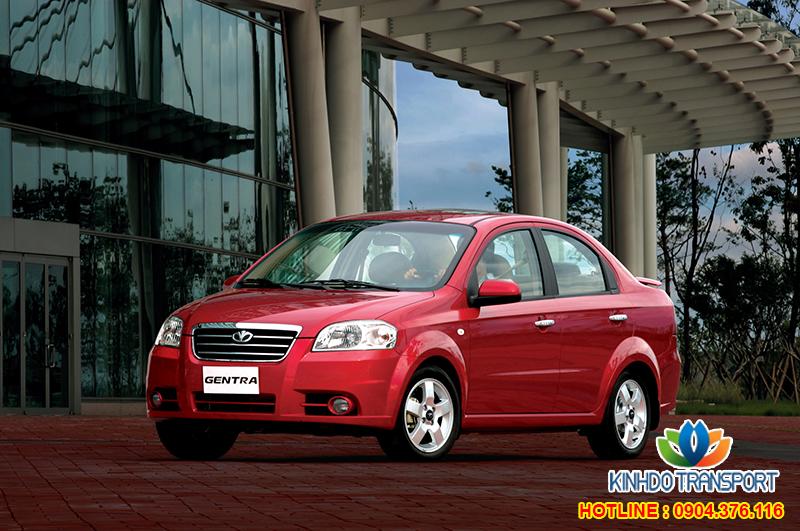 Cho thuê xe du lịch 4 chỗ Daewoo Gentra