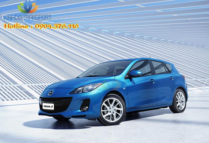 Cho thuê xe du lịch 4 chỗ Mazda 3s