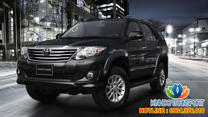 Cho thuê xe du lịch 7 chỗ Toyota Fortuner