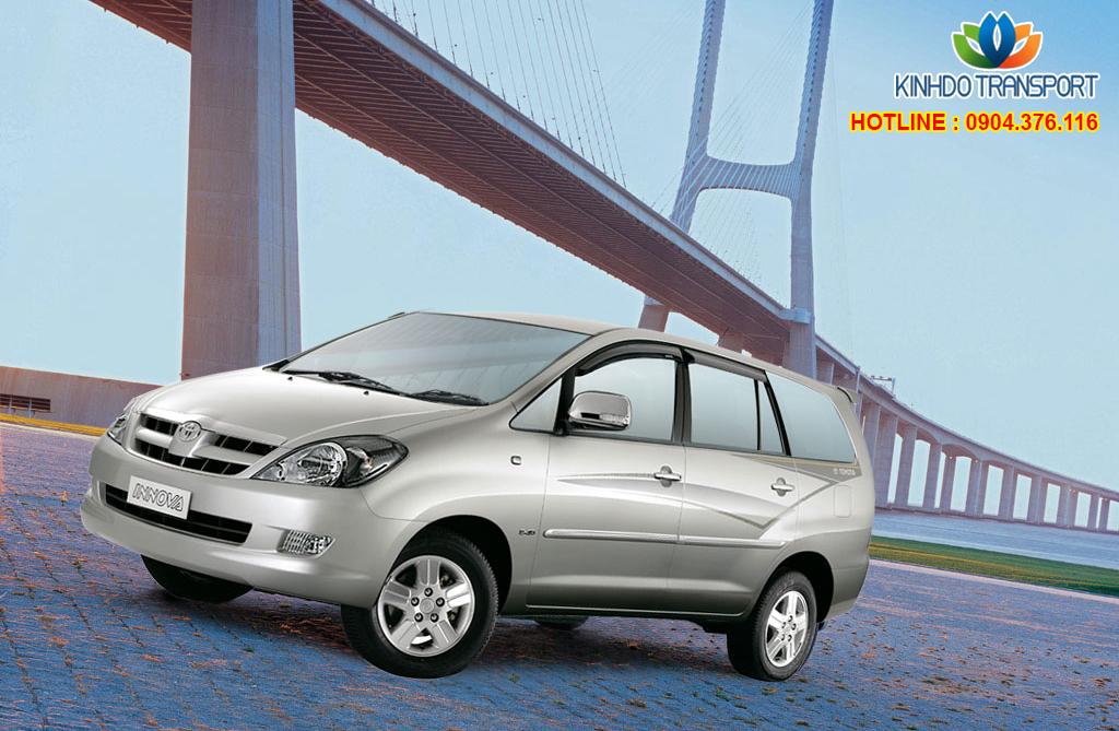 Cho thuê xe du lịch 7 chỗ Toyota Innova G