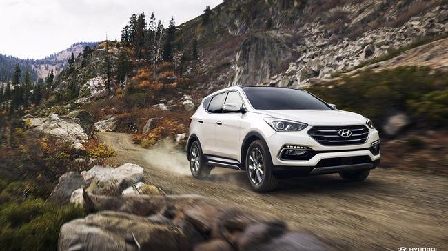 Hyundai Santa Fe Sport 2017 được mọi người biết đến về độ an toàn rất là cao